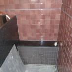 新規鏡・シャワー取付工事1
