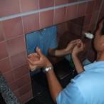 新規鏡・シャワー取付工事2